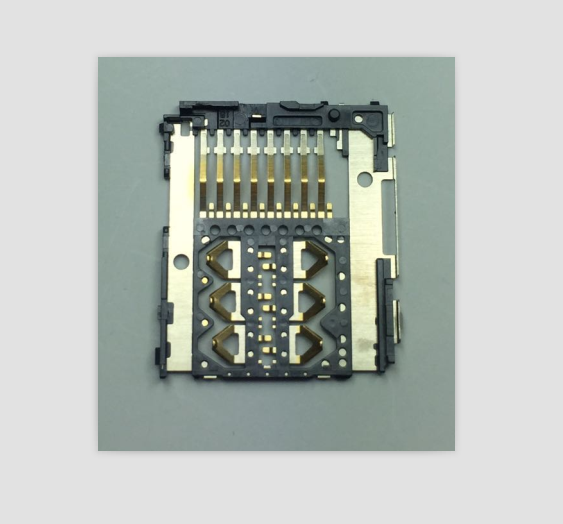 埋入成型2选1卡座连接器